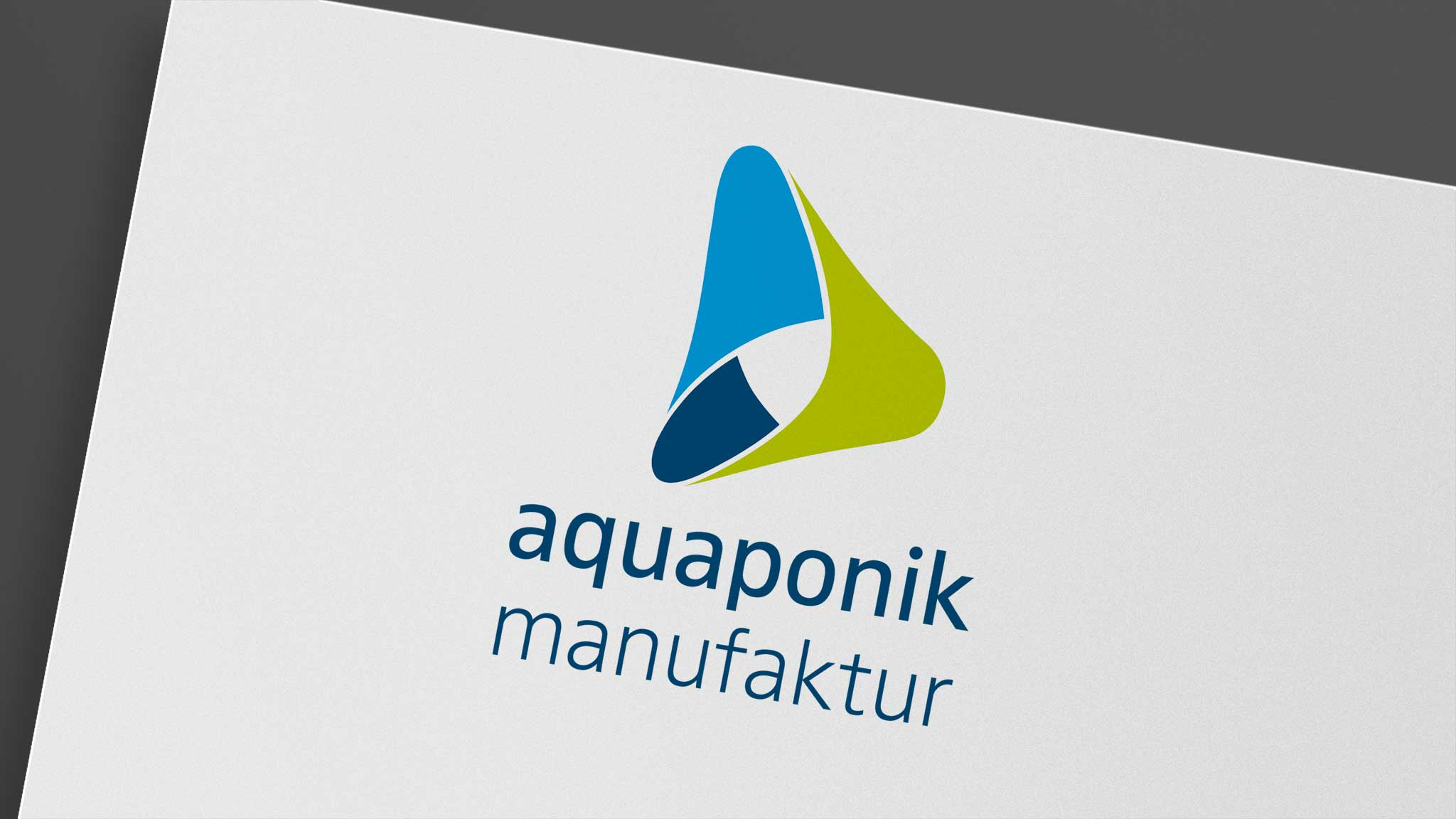 Logo Design für die Aquaponik Manufaktur