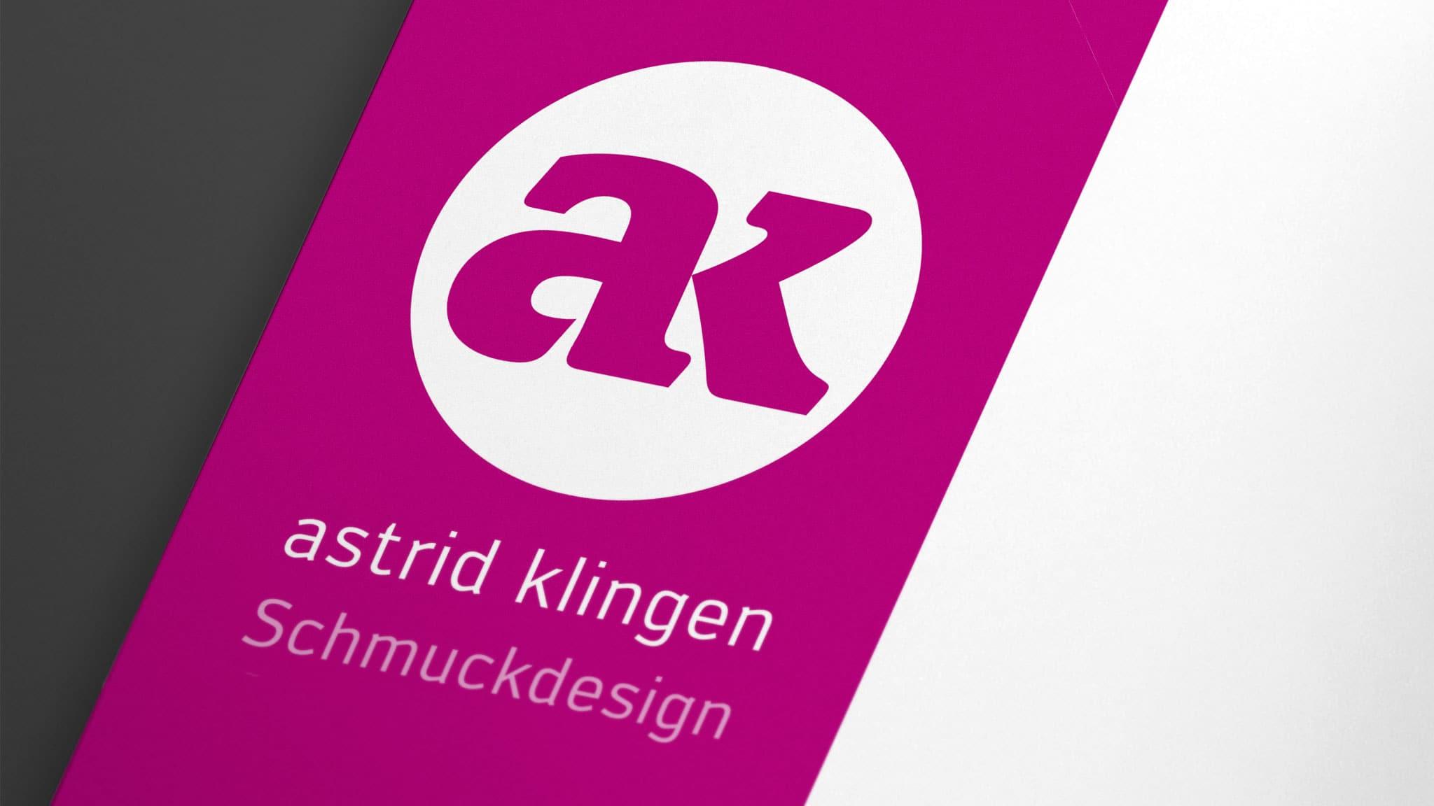 Logo Design für ein Schmuckgeschäft