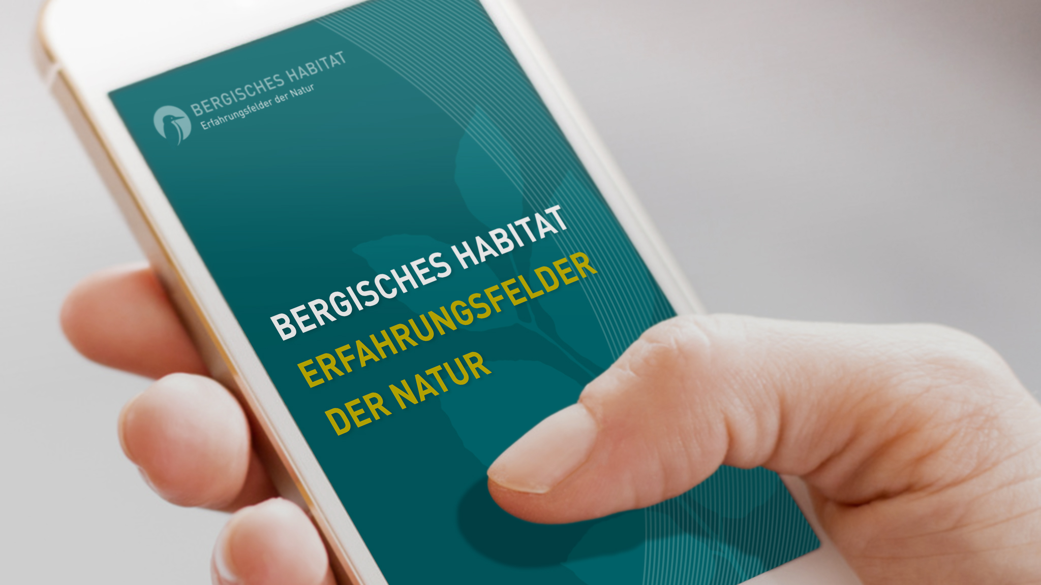 App Design für das Bergische Habitat