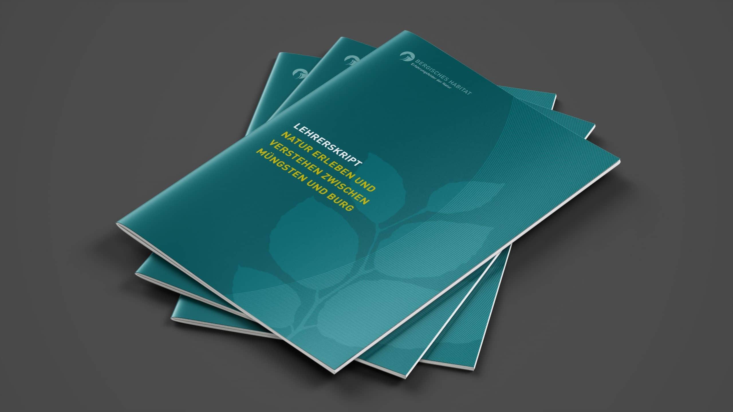 Titeldesign Broschüre für das Bergische Habitat