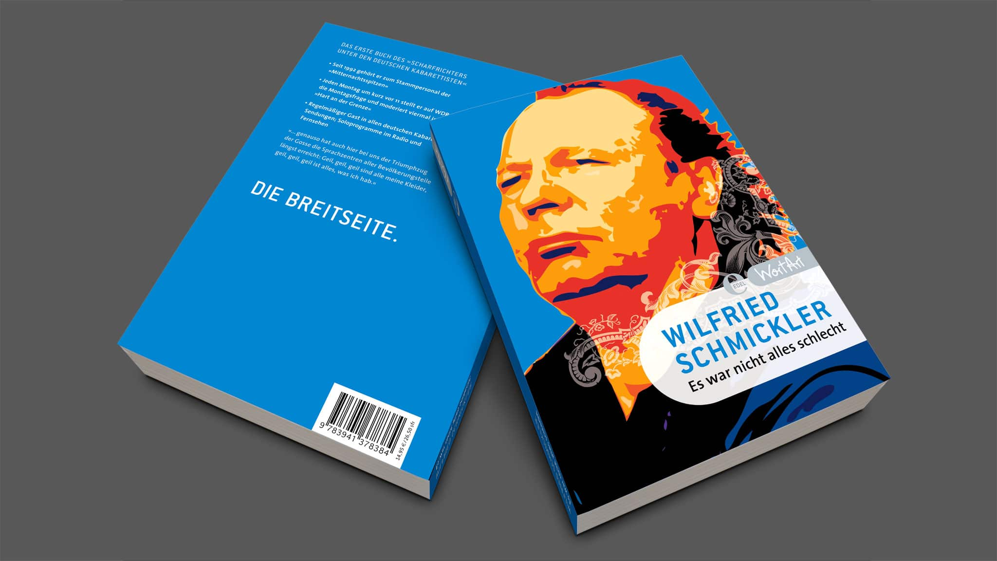 Buchcover Design Wortart