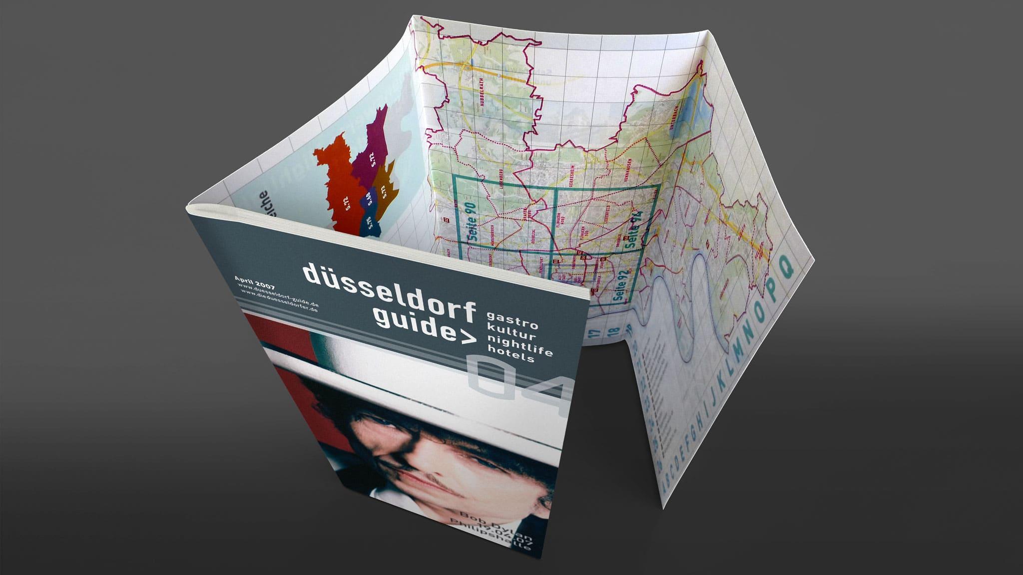 Umschlaggestaltung Stadtmagazin