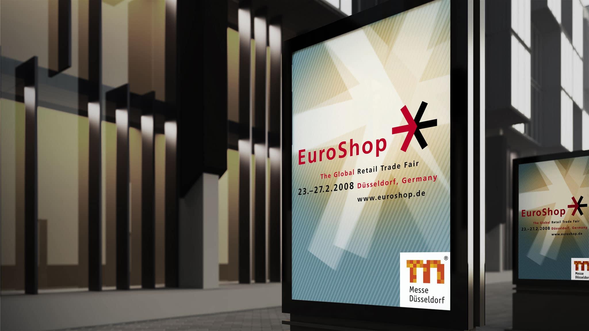Plakat Design für die EuroShop
