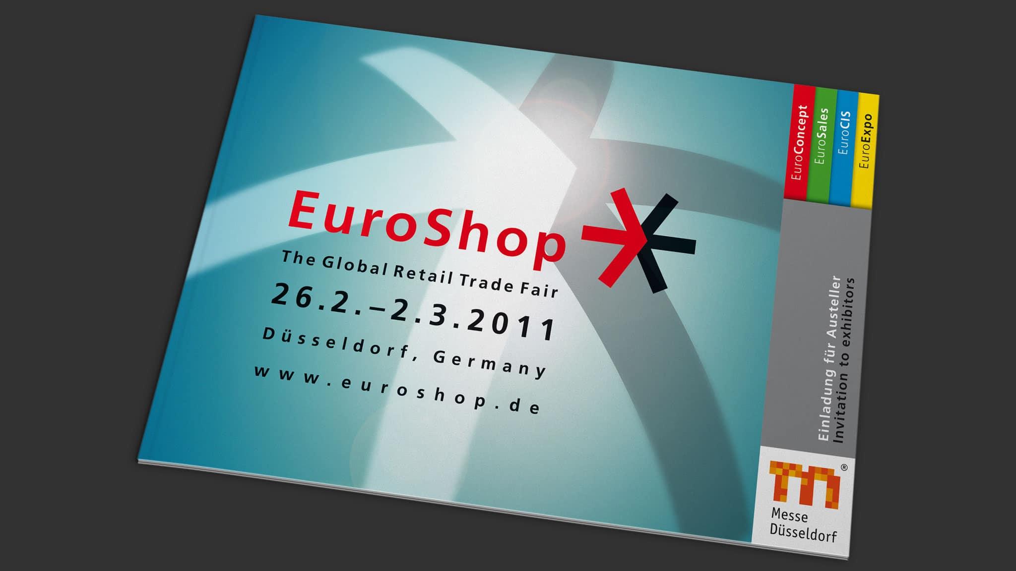 Titelblatt Check in Broschüre für die EuroShop