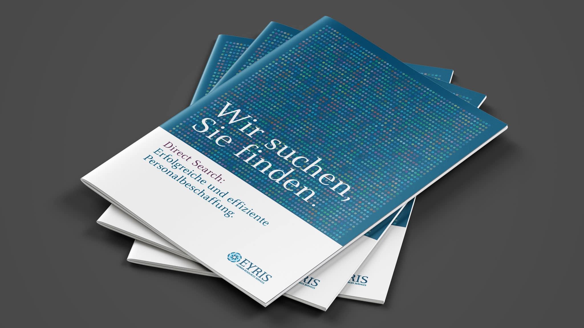 Titelgestaltung für eine Imagbroschüre