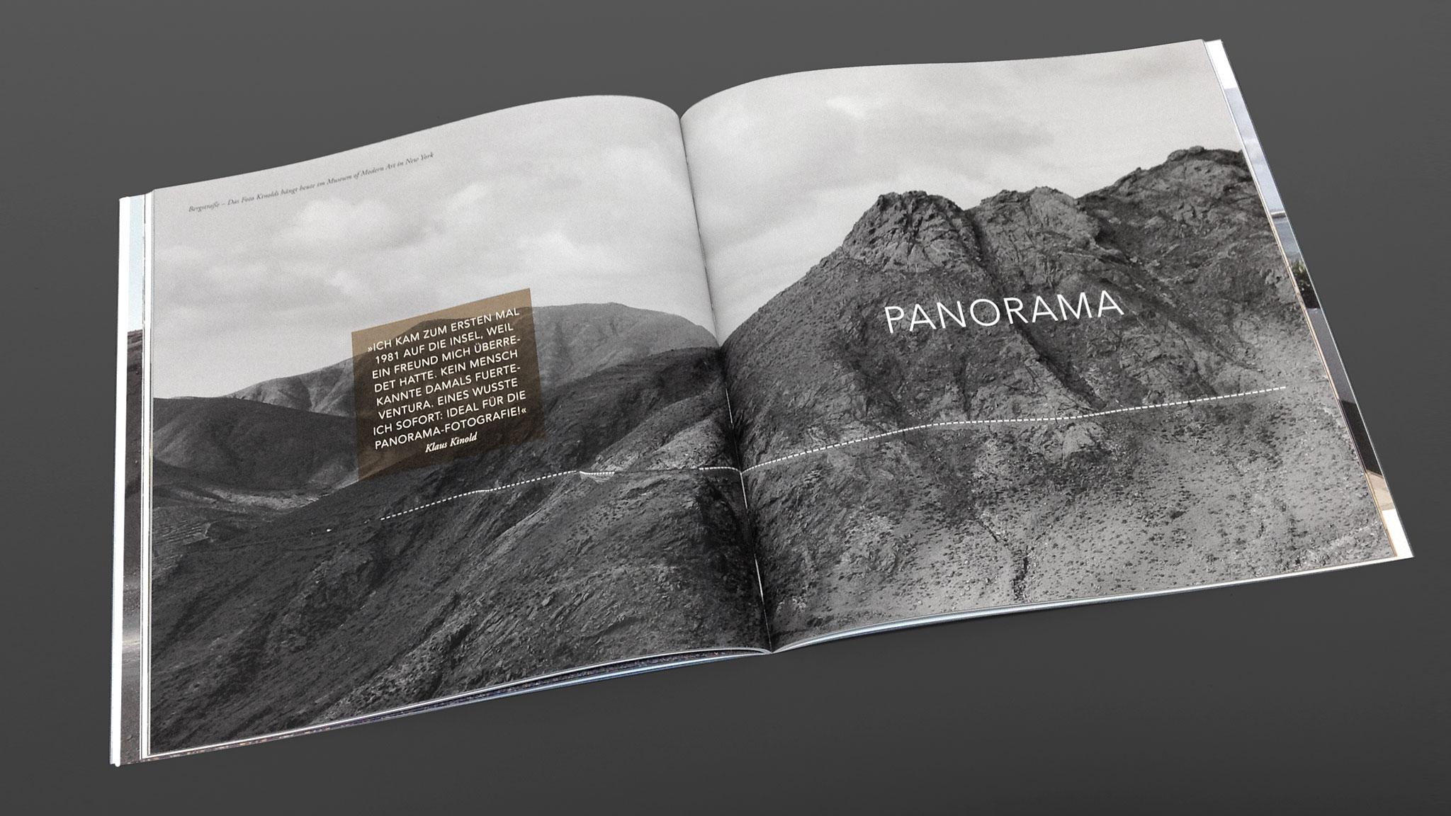 Innenseiten Buchprojekt für Fuertevetura