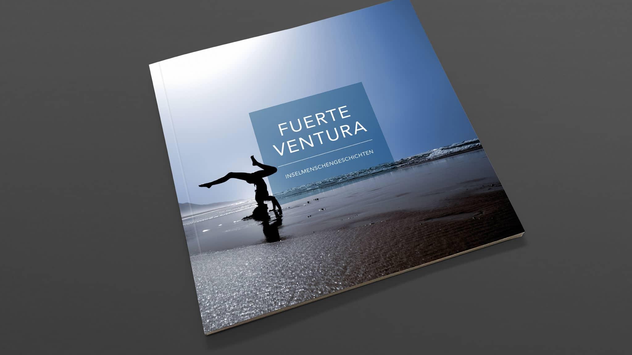 Titelgestaltung Buchprojekt für Fuertevetura