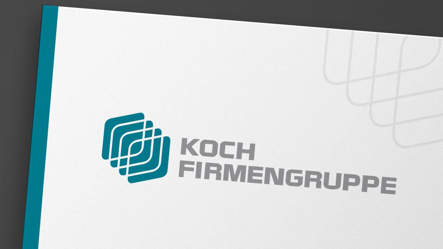 Logo Design für die Koch Firmengruppe