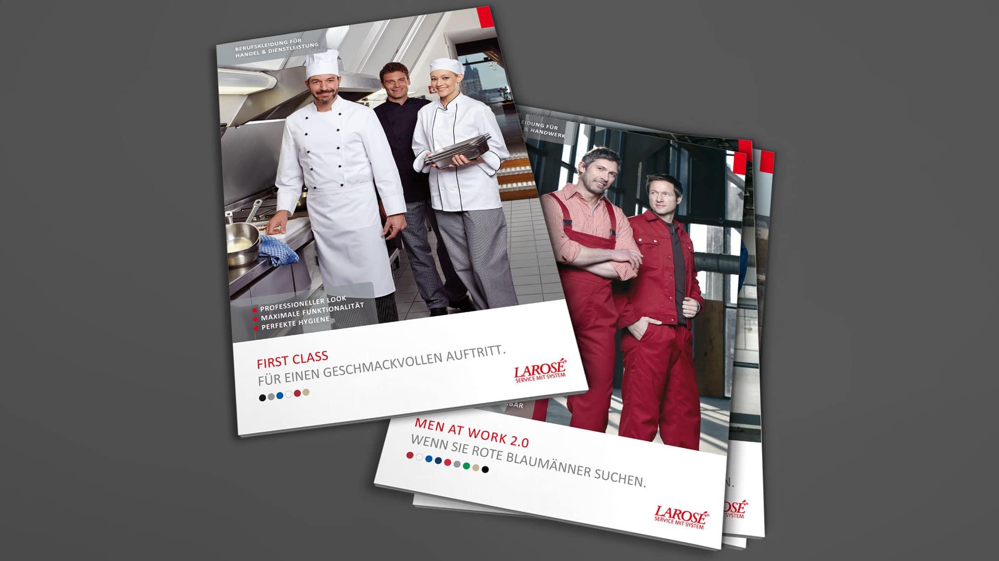 Katalog Design für Larosé