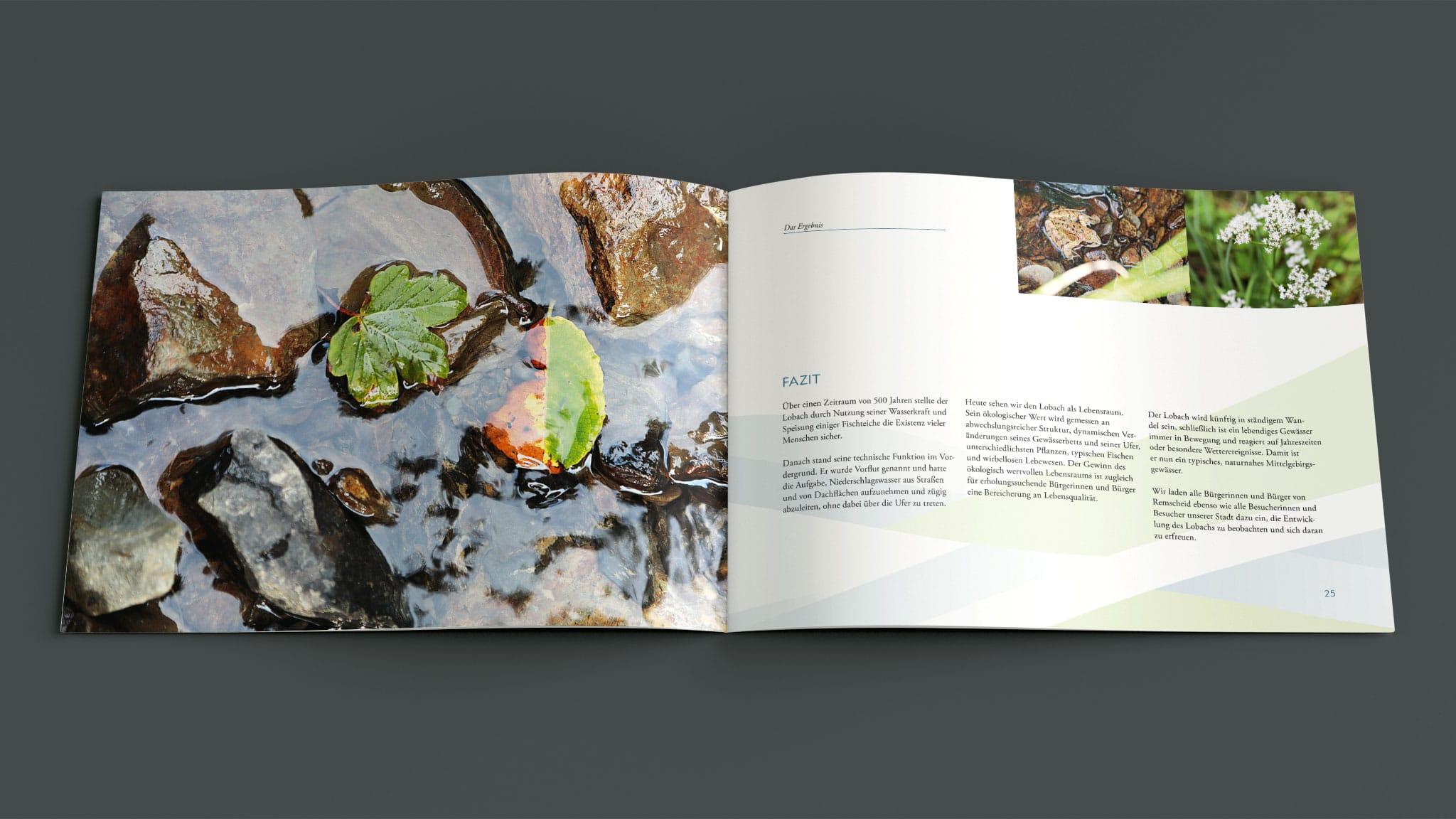 Innenseite Broschüre Der Lobach in Remscheid