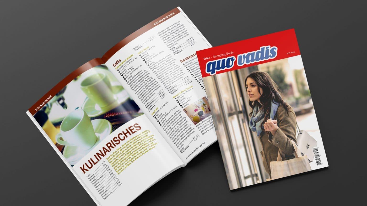 Shopping Guide Quo Vadis für Trier