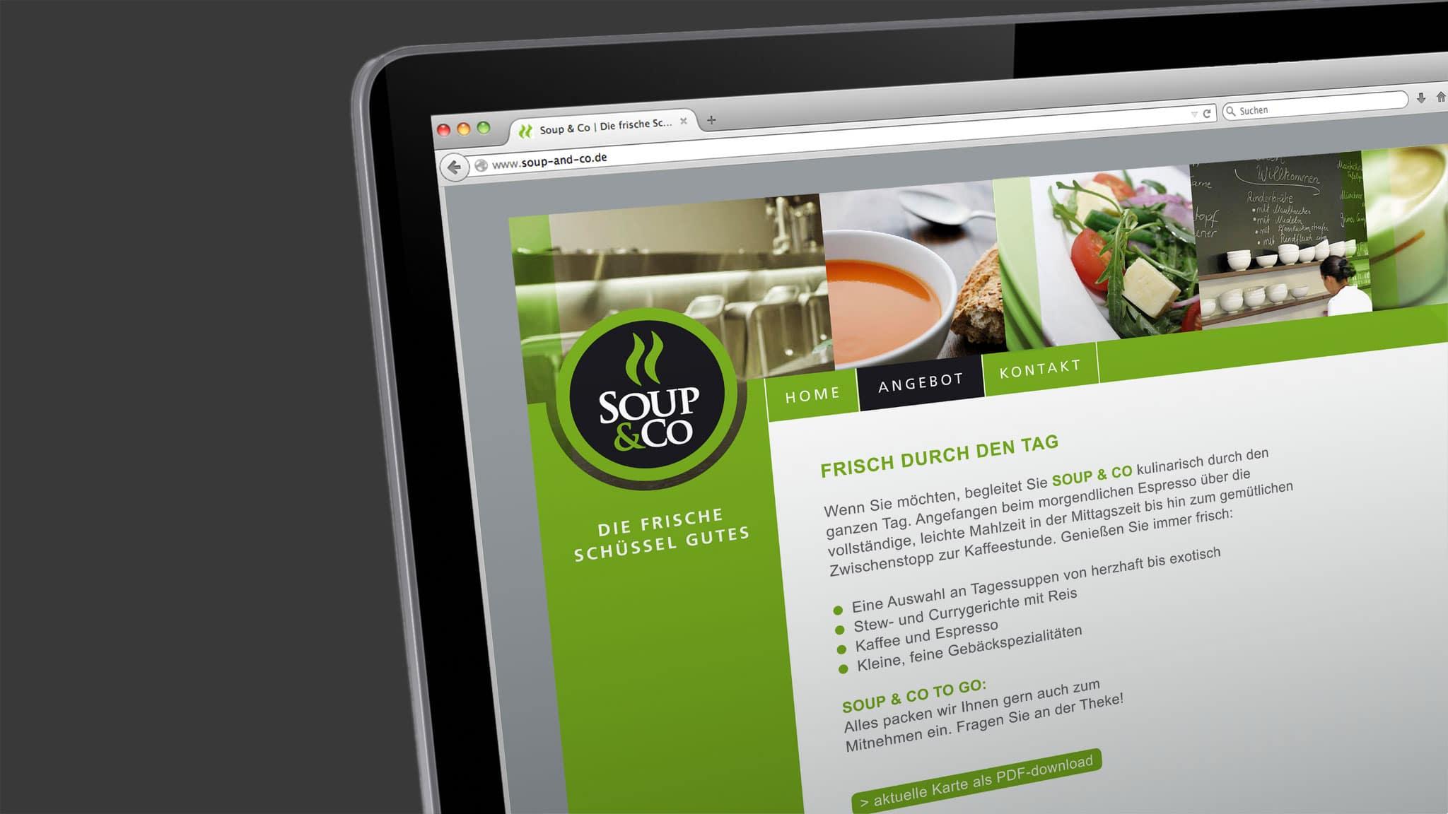 webdesign ür ein Restaurant