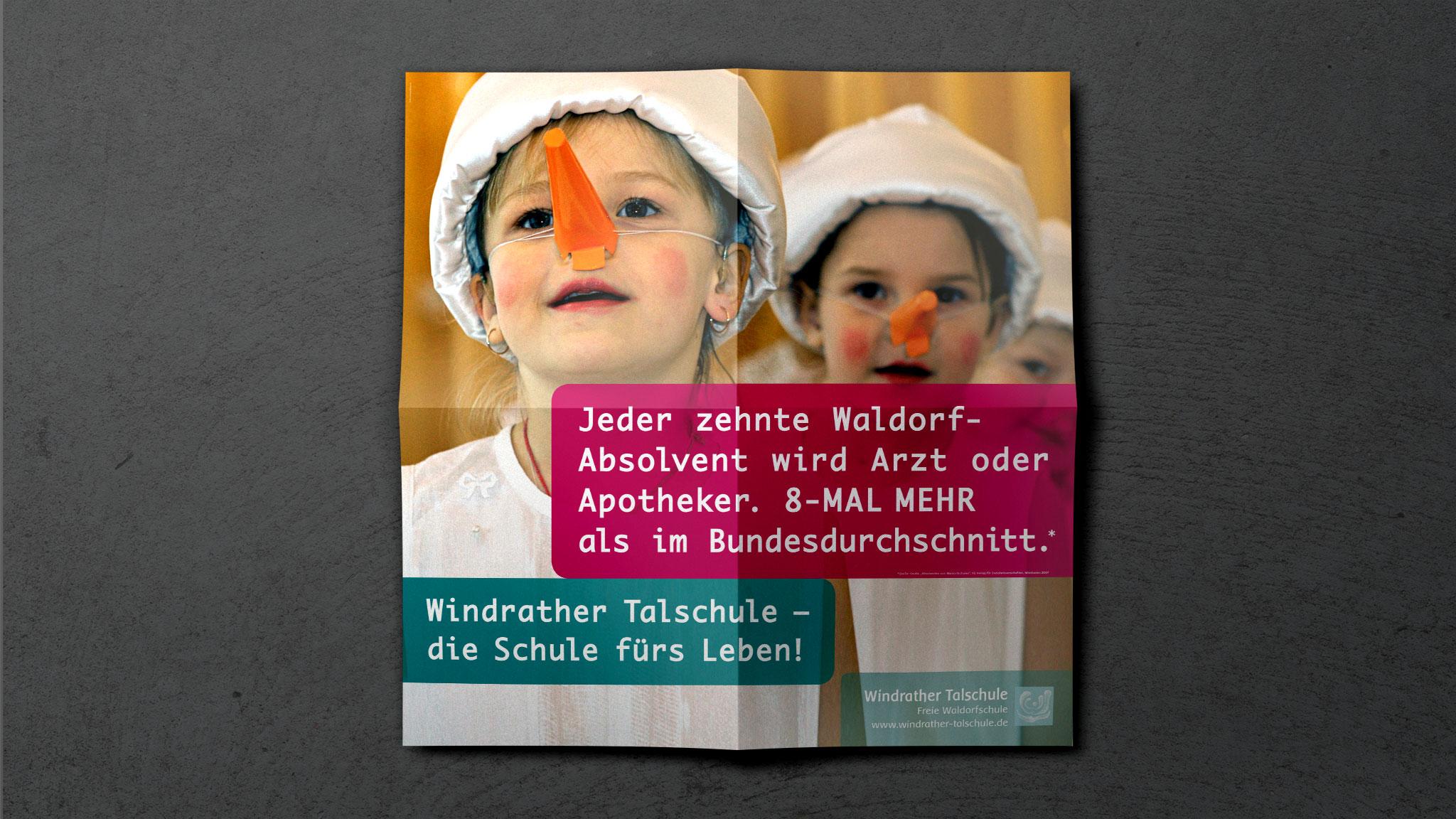 Gestaltung Werbeposter Waldorfschule