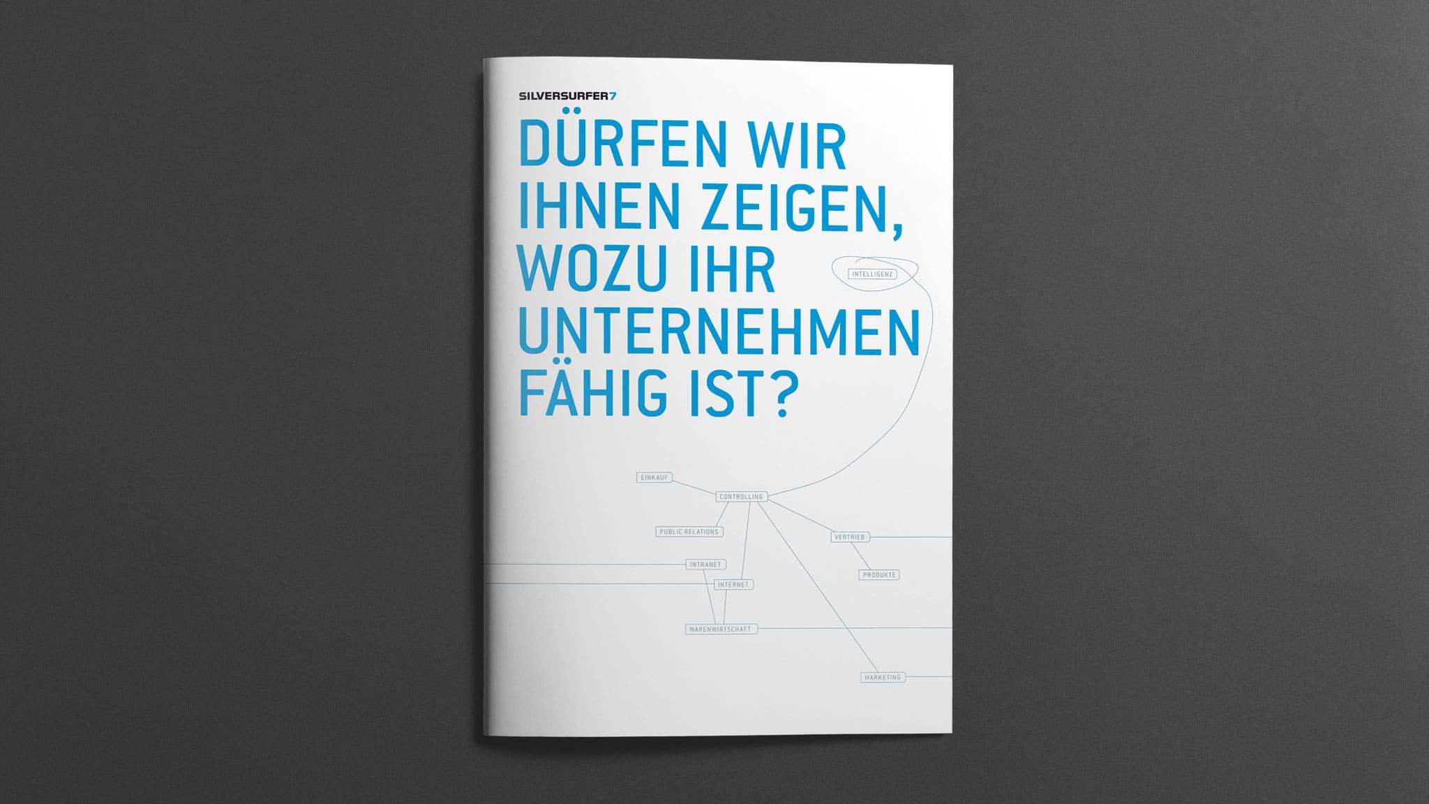 Titel-Design Imagebroschüre für silversurfer7