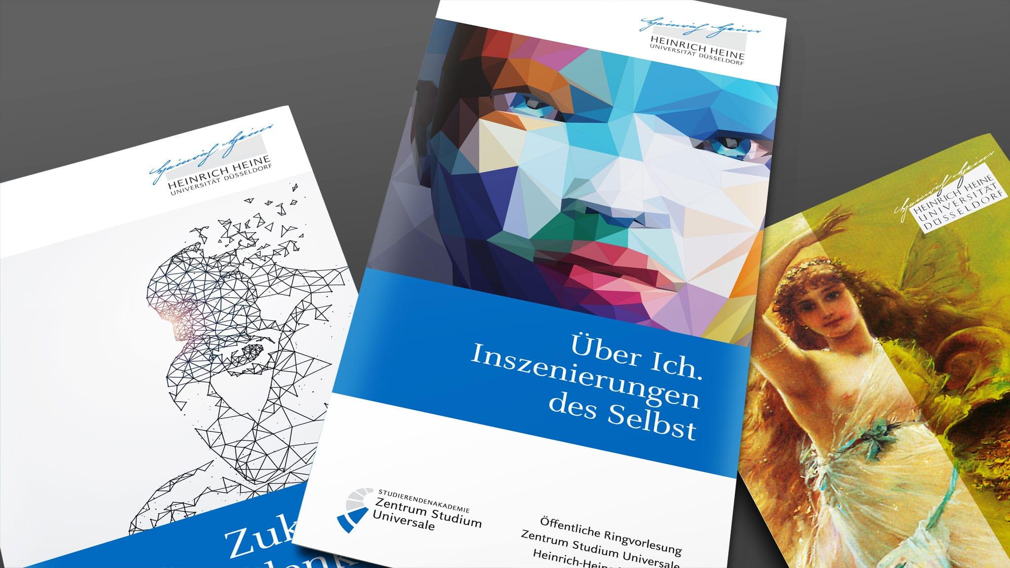 Flyer für die Universität Düsseldorf
