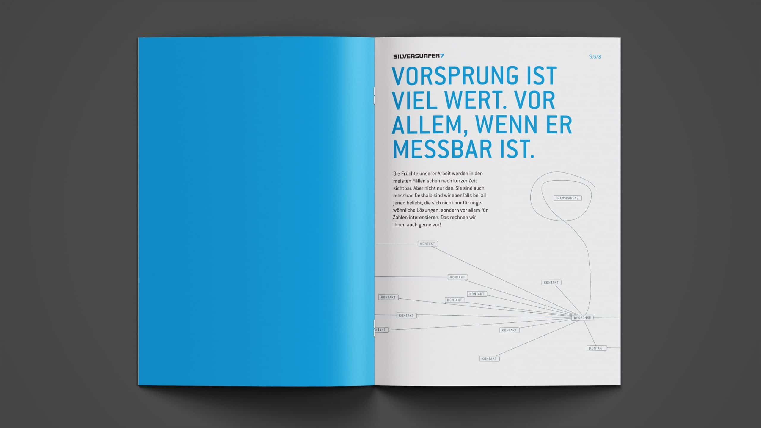 Grafiken in Imagebroschüre silversurfer7